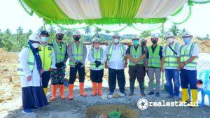 Groundbreaking Rusun Polri di Gorontalo (Foto: dok. Kementerian PUPR)