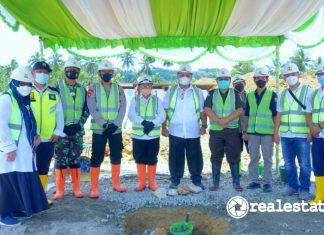 Kementerian PUPR Groundbreaking Rusun Polri di Gorontalo realestat.id dok