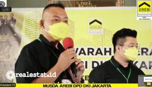 Clement Francis terpilih menjadi Ketua DPD AREBI DKI Jakarta masa bakti 2021-2024. Penetapan tersebut dilakukan dalam Musda DPD AREBI DKI Jakarta, pada Rabu, (07/04/2021) di Menteng, Jakarta Pusat. (Foto: Istimewa)