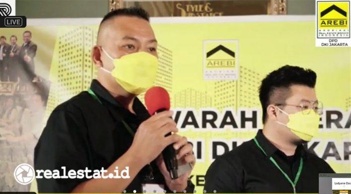 Musda DPD AREBI DKI Jakarta, Clement Francis Ketua DPD AREBI DKI Jakarta, broker properti