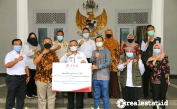 PeduliBersama PT Semen Jawa dan PT Tambang Semen Sukabumi covid realestat.id dok