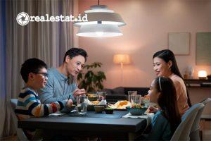 Philips Smart Wi-Fi LED dengan WiZ Connected dari Signify untuk memulai Smart Home. (Foto: Signify Indonesia).