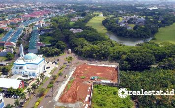 Progres Kota Modern Tangerang Tunjangan Harga Rumah THR Modernland Realty realestat.id dok
