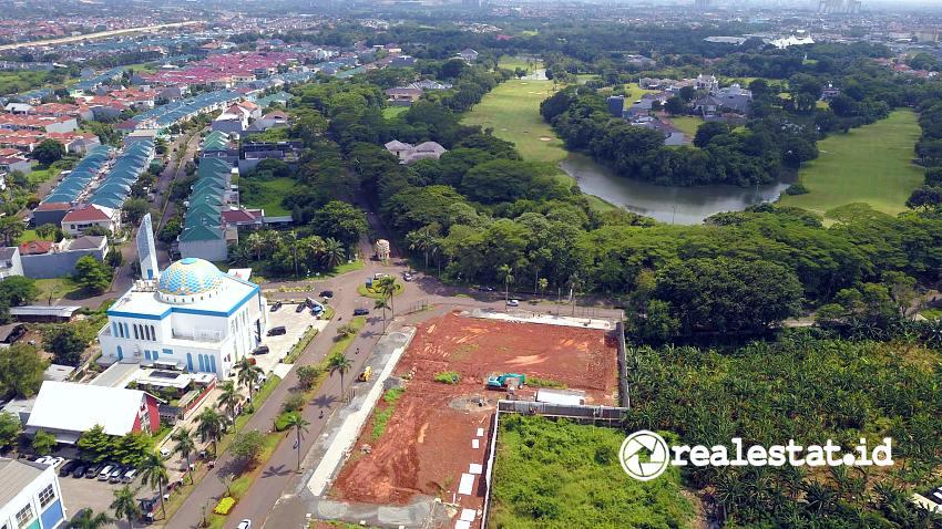 Progres pembangunan Kota Modern, Tangerang. (Foto: Dok. Modernland Realty)