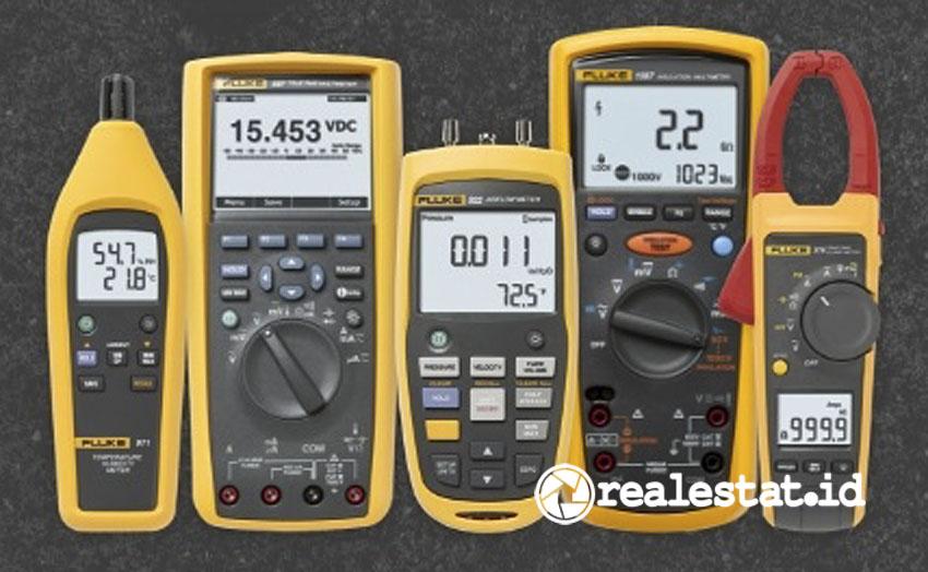 Perangkat uji elektronik Fluke yang didistribusikan RS components. (Foto: dok. RS Components)