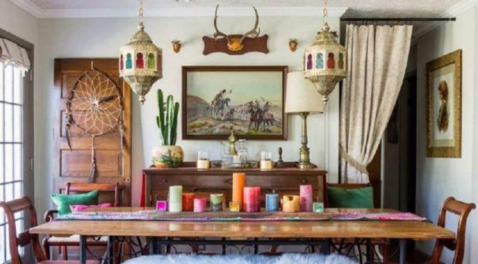 Salah satu inspirasi ruang makan bergaya Maroko yang cocok diaplikasikan di bulan Ramadan. (Foto: www.thedeclaration.net)