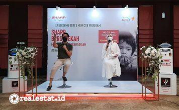 Program CSR Sharp Bersedekah, Sharp Indonesia