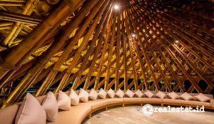 Arsitektur instalasi bambu (Foto: Dok. Pon Purajatnika)