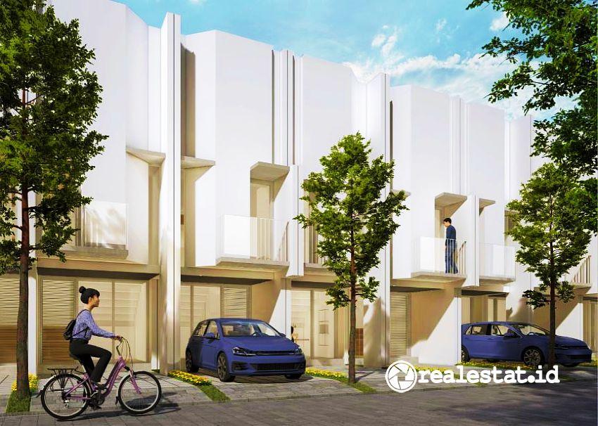 rumah di Cluster Myza BSD City Sinar Mas Land