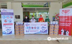 Salah satu Rumah Sakit penerima donasi SoKlin Antisep di Banjarmasin. (Foto: Dok. Wings Care)