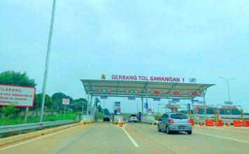 gerbang tol sawangan 1 humas polri go id realestat.id dok