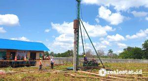 Pembangunan Rumah Susun di Kalimantan Barat (Foto: Kementerian PUPR)