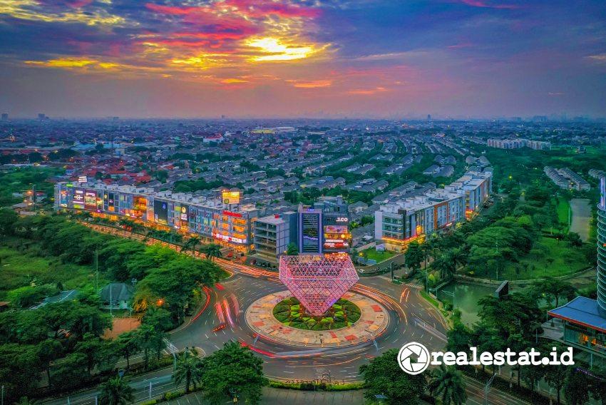 Kawasan pengembangan Summarecon Bekasi. (Foto: Dok. Summarecon)