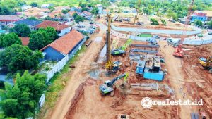 pembangunan Tol Serbaraja (Serpong-Balaraja) - Foto: Dok. Sinar Mas Land