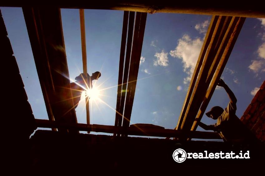 Pembangunan program perumahan. (Foto: Dok. Kementerian PUPR)