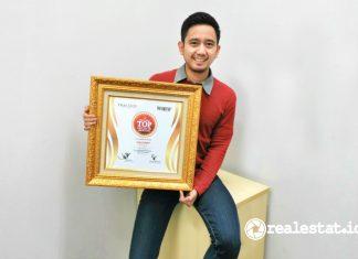 penghargaan sharp indonesia Piagam Indonesia Top Digital PR 2021 realestat.id