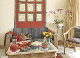 Inspirasi dekorasi meja ruang tamu rayakan Lebaran, tips menata meja untuk Idul Fitri