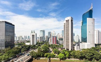 ilustrasi gedung perkantoran, Colliers International Indonesia