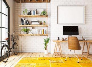 desain home office, tips mendesain home office