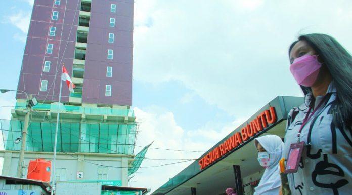 Keuntungan Tinggal di Rusun Berbasis TOD stasiun rawa buntu kementerian pupr realestat.id dok