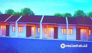Desain rumah di Kota Mandiri Tukang Indonesia.