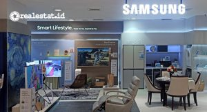 Samsung Smart Lifestyle Home di SOGO Plaza Senayan Jakarta. (Foto: Samsung Electronics Indonesia)