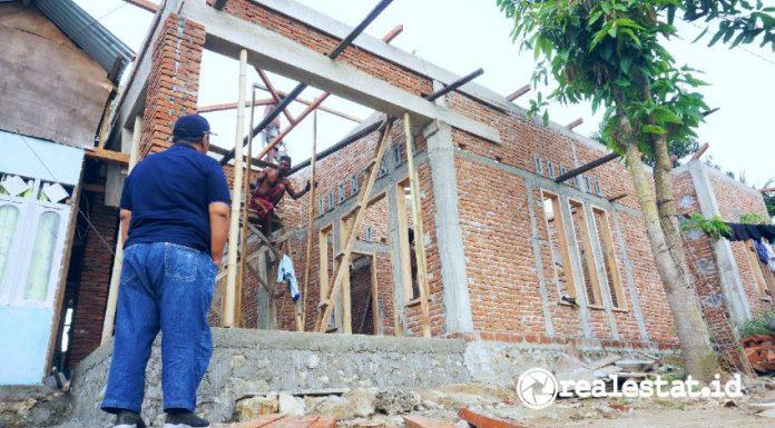 Teknologi Lapisan Ferosemen Program BSPS Bedah Rumah Kementerian PUPR realestat.id dok