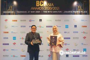 PT Adhi Commuter Properti (ACP) kembali didapuk sebagai salah satu dari Top 10 Developers Indonesia di Ajang BCI Asia Awards 2020/2021. (Foto: Dok. ACP)