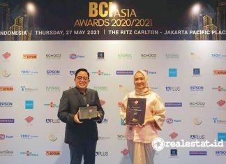 adhi commuter properti top developers bci asia awards 2020 2021 realestat.id dok