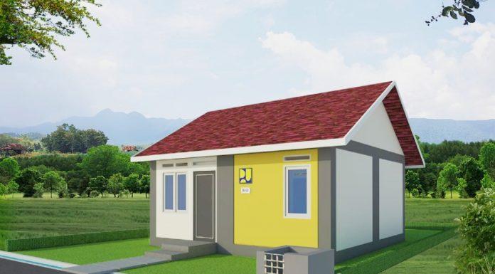 Desain rumah khusus  masyarakat terdampak bencana di NTT (Foto: Kementerian PUPR)