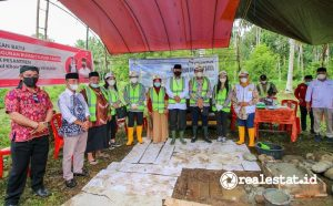 Groundbreaking Pondok Pesantren Miftahul Khoir Tebuireng VII, Bolaang Mongondow Timur (Foto: Kementerian PUPR)