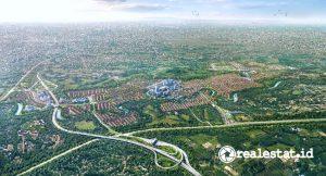 Kawasan Kota Wisata Cibubur (Foto: Sinar Mas Land)