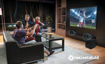 polytron Smart Cinemax Soundbar Android TV realestat.id dok