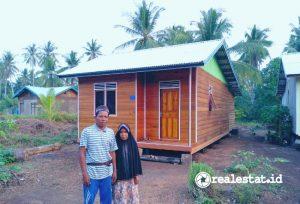 Program Bedah Rumah di Riau (Foto: Kementerian PUPR)