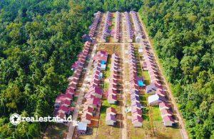 Rumah subsidi di Kalimantan Barat (Foto: Dok. Kementerian PUPR)