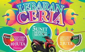 sharp indonesia Sharp Share Happiness_ Lebaran Ceria realestat.id dok