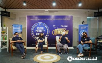 Indonesia Property Watch 99 group Golden Property Awards 2021 realestat.id dok