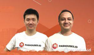 Co-Founder Pashouses.id, Junghans Tasani dan Bin Anindita.