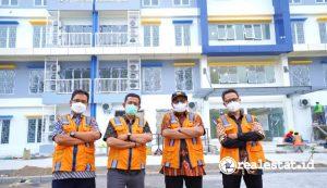 Rusun ASN Serayu Opak Yogyakarta ditargetkan rampung Juli 2021 (Foto: dok. Kementerian PUPR)