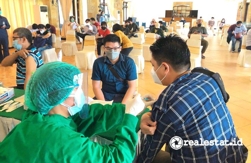 Paramount Land Gelar Program Vaksinasi di Wilayah Gading Serpong.