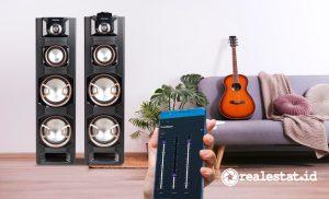 Speaker 8E Series yang serba digital. (Foto: Dok. Polytron)