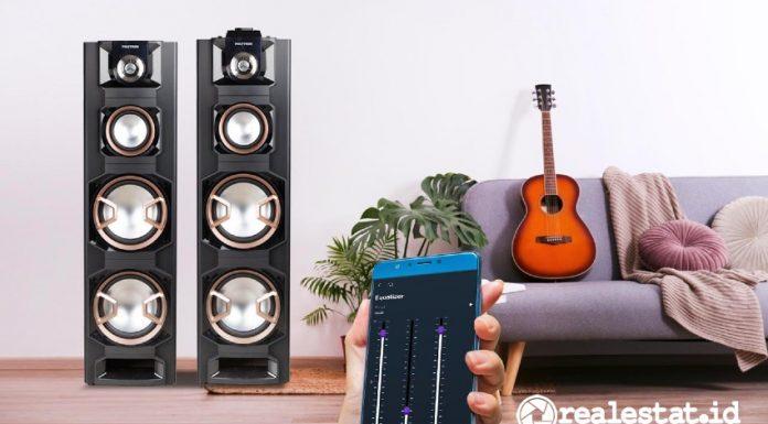 Polytron active speaker 8E series aplikasi PAC realestat.id dok