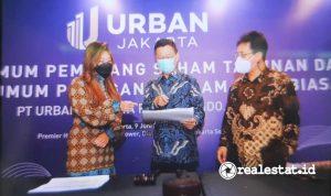 RUPST dan RUPSLB PT Urban Jakarta Propertindo, Tbk (Foto: Istimewa)