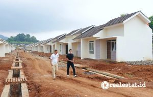 Rumah Khusus (Rusus) Relokasi Masyarakat Terdampak Bendungan Kuningan (Foto: dok. Kementerian PUPR)