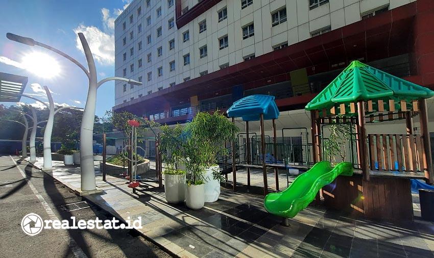Tivoli Garden di apartemen Skandinavia, yang dilengkapi area bermain anak. (Foto: dok. Skandinavia Apartment)