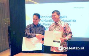 Kerjasama dengan PT Griya Kedaton Indah, Triniti Land Rencanakan Pengembangan Dua Proyek di Lampung. (Foto: Triniti Land)