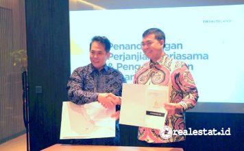 Triniti Land PT Griya Kedaton Indah proyek Lampung realestat.id dok