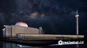 Masjid Istiqlal setelah renovasi (foto: dok. Satrio Herlambang)