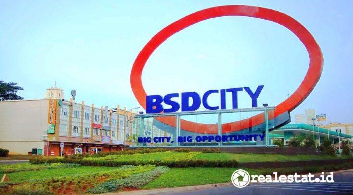 Kawasan BSD City.
