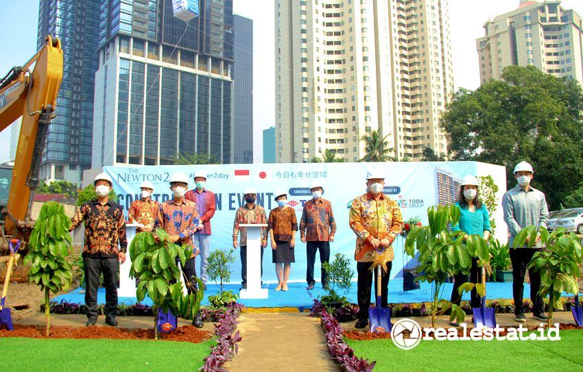 Prosesi dimulainya pembangunan Apartemen Newton 2 (Foto: Dok. Ciputra Group)